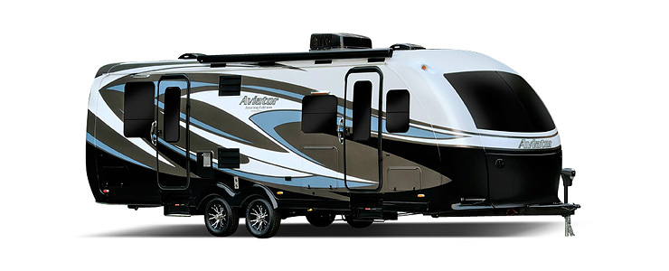 Exterior of Aviator Trailer