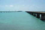 Overseas Highway and Seven Mile Bridge in the Florida Keys