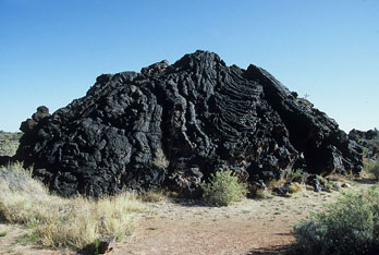 Lava Rock, Valley of Fires Recreation Area, Carrizozo, NM