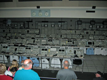Apollo Mission Launch Control