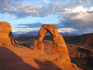 Delicate Arch at Sunset, Arches National Park