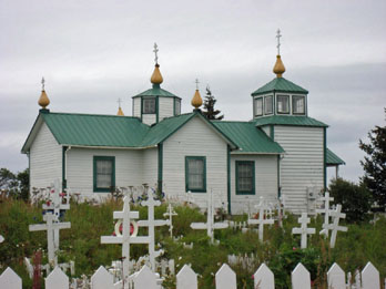 Church of the Transfiguration of Our Lord at the Old-Ninilchik Village