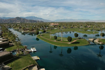 Aerial view of the Motorcoach Country Club