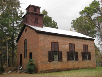 Abandoned Church at Rocky Springs