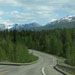 Parks Highway Alaska with view's of Alaska's range