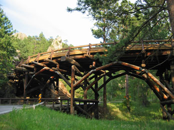 Pigtail Bridge, Peter Norbeck Scenic Byway