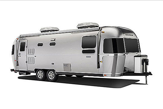 Exterior of Airstream Land Yacht