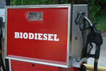Red Biodiesel Pump