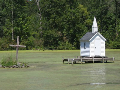 Cross Island Chapel, smallest church in the world