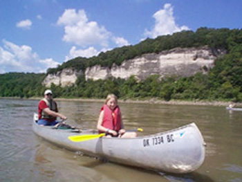Kayaking and Canoeing on the West - Missouri (Montana)