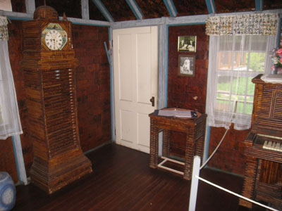 Interior of the Paper House