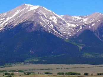 Mount Princeton, Colorado Rockies