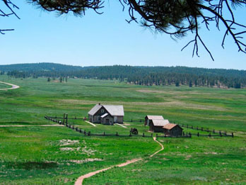 Hornbek Homestead at Florissant Fossil Beds National Monument