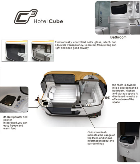 The main features of C3 Hotel Cube