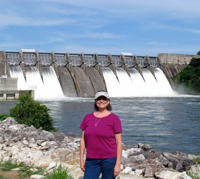 Malia Lane at Douglas Dam TN