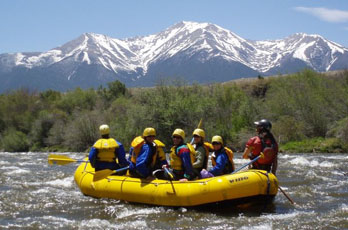 Whitewater rafting, Arkansas River, CO