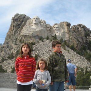 The RoadScholarz at Mt. Rushmore