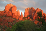 Cathedral Rock Sedona at Sunset