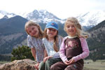 The Marrs girls - Kalyn, Hannah and Megan