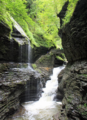 Waterfalls at Watkins Glen State Park, New York