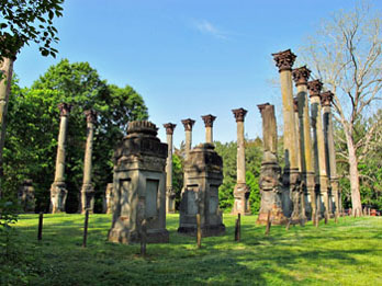 Columns at Windsor Ruins