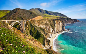 Bixby Bridge on Pacific Coast Highway