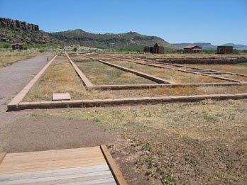 Ruins at Fort Davis National Historic Site