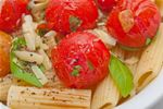 Rigatoni with Tuna Tomatoes and Broccoli