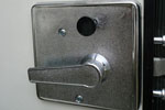 Deadbolt lock and key