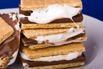 A tower of S'mores