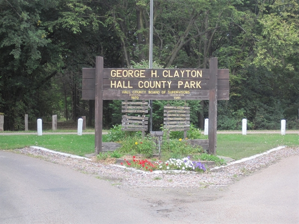 George H Clayton Hall County Park