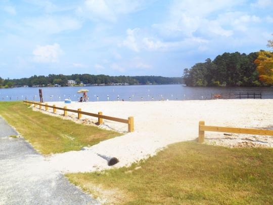 Oconee National Forest Lake Sinclair Recreation Area Eatonton Ga Swimming Beach
