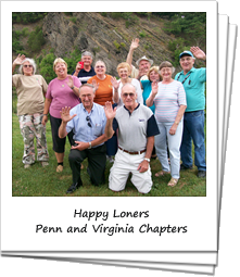 Loners on Wheels RV Club - Penn and Virginia Chapters waving