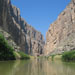 Canoeing through Santa Elena Canyon on the Rio Grande in Big Bend National Park