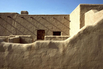 Adobe fort at Fort Leaton State Historic Site